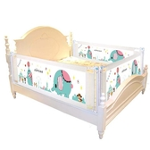 床圍欄寶寶防摔防護欄垂直升降嬰兒童2米1.8床邊通用幼兒大床擋板 一木良品