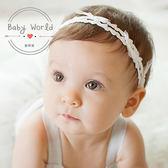 髮帶 寶寶 韓版 頭飾 網紗 蝴蝶結 雙層 髮飾