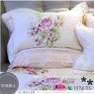 天絲棉『玫瑰騎士』(5*6.2尺)床罩組...