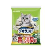 【Unicharm】日本消臭大師消臭礦砂森林香-5LX2包