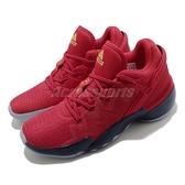 adidas 籃球鞋 D.O.N. Issue 2 GCA 紅 深藍 漫威 Marvel 男鞋【ACS】 FZ1448