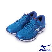 MIZUNO WAVE SKY 2 一般型慢跑鞋 寶藍 J1GC180203 男鞋