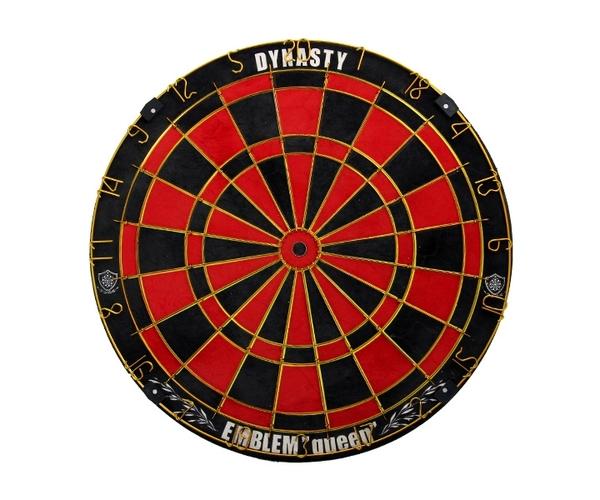 【DYNASTY】EMBLEM Queen Type-B Red(寄送僅限台灣地區;無法超商取付) 鏢靶 DARTS BOARD