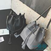 2018春季新款韓版時尚女包子母水桶包小包包休閒簡約單肩斜挎包潮