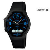 AW-90H-2B卡西歐CASIO實用雙顯運動男錶公司貨