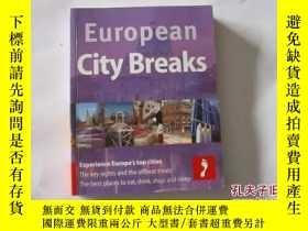 二手書博民逛書店EUROPEAN罕見CITY BREAKS 【395】Y10970 FOOTPRINT FOOTPRINT