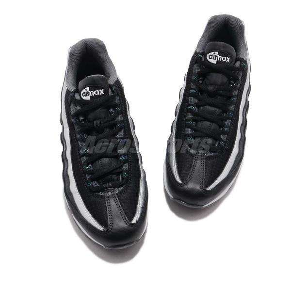 Nike 休閒鞋 Air Max 95 Y2K GS 黑 銀 運動鞋 氣墊 女鞋 大童鞋【ACS】 AT8091-001