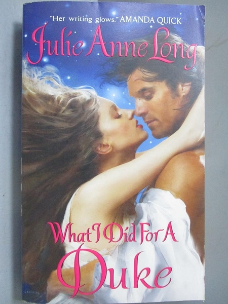 【書寶二手書T2/原文小說_NRE】What I Did for a Duke_Long, Julie Anne