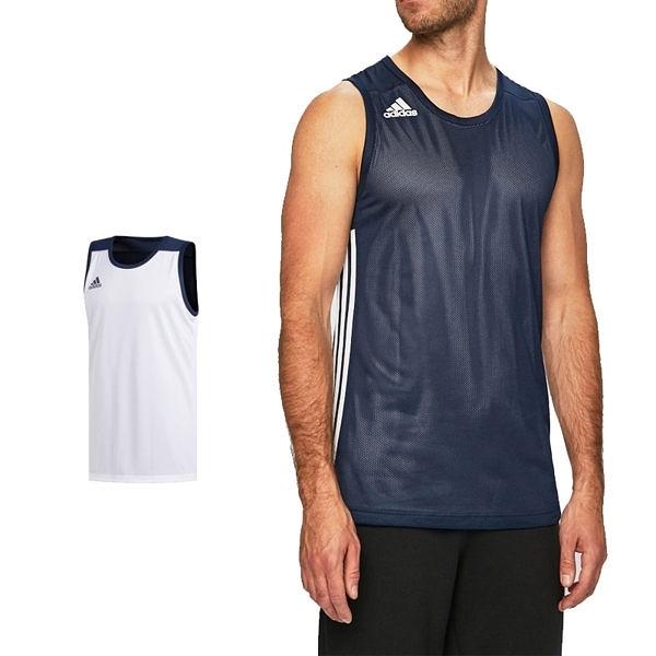 Adidas 3G Speed 愛迪達 球衣 深藍 白 雙面穿團體籃球服 球衣 透氣 上衣 刺繡 無袖 背心 DY6594