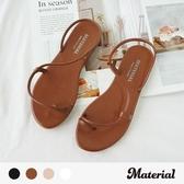 拖鞋 繞踝套趾細帶拖鞋 MA女鞋 T60107