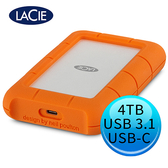 LACIE Rugged 4TB USB3.1 Type-C 2.5吋 外接硬碟 STFR4000800