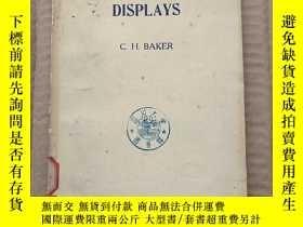 二手書博民逛書店man罕見and radar displays(P312)Y173412