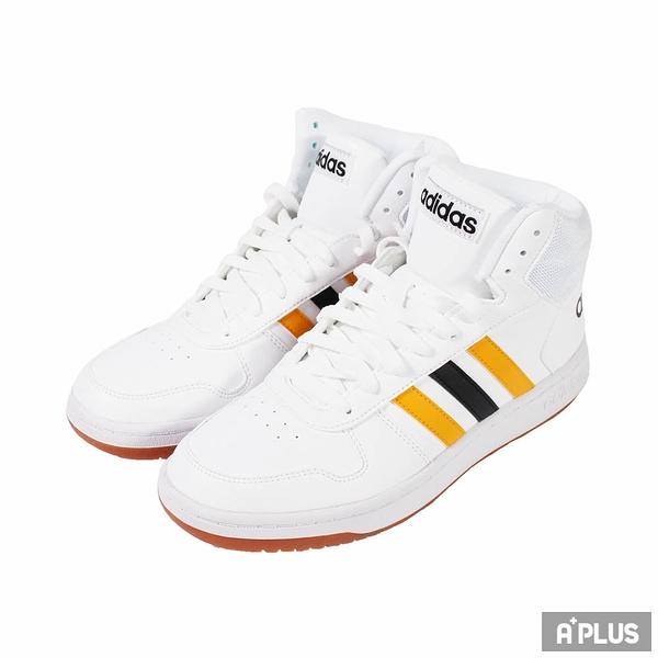 ADIDAS 男 HOOPS 2.0 MID 經典復古鞋 - FW9347