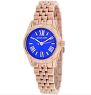『Marc Jacobs旗艦店』美國代購 MK3272 Michael Kors玫瑰金色深藍錶面腕錶|MK|100%全新正品|
