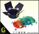 ES數位 GODOX 神牛 150W小霸王 250W小先鋒 9.8cm 標準罩 BD-01 四葉 蜂巢罩 含四濾色片 組 BD01