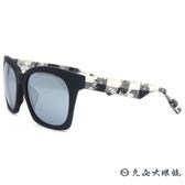 McQ Alexander Mcqueen 太陽眼鏡 MCQ0034FS (霧黑) 水銀 墨鏡 英式 蘇格蘭紋 久必大眼鏡