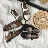 日繫女鞋瑪麗珍單鞋復古森女學院風軟妹小皮鞋圓頭娃娃鞋  蜜拉貝爾