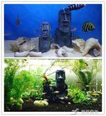 魚缸擺件 菠蘿屋魚缸造景裝飾海綿寶寶公仔水族箱卡通樹脂小擺件魚蝦躲避屋 樂芙美鞋