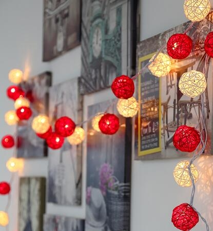 2021春節彩燈家用過年燈籠燈串新年裝飾掛件串燈場景布置節日燈飾 蘇菲小店