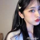 蝴蝶耳環2020年新款潮設計感發夾耳飾女長款耳釘氣質過年爆款耳墜 黛尼時尚精品