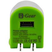 [良基電腦] I-Gear 艾吉爾 2100mAh USB 充電器(綠/白) - T002A-GW