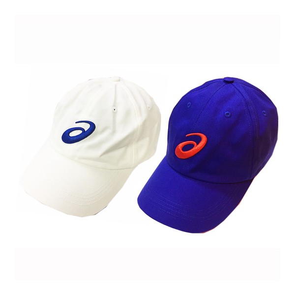 Asics Baseball Cap [Y31751-01] 男 帽子 鴨舌帽 六分割 運動 遮陽 經典 基本 穿搭 白