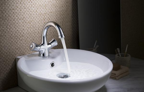 【麗室衛浴】Yatin Superior系列 單孔雙槍面盆龍頭 鉻色 8.66.03