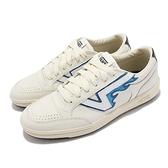 Vans 休閒鞋 Lowland CC Ft 白 藍火焰 Flying V 男鞋 女鞋 滑板【ACS】 VN0A54MH2SB