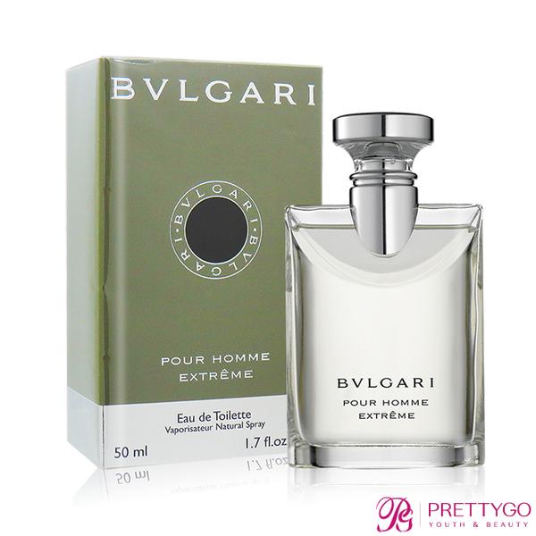 BVLGARI 寶格麗 大吉嶺極致男性淡香水 Pour Homme Extreme(50ml) EDT-國際航空版【美麗購】