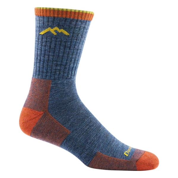 [好也戶外]DARN TOUGH 男登山健行厚款羊毛襪 HIKER No.1466 丹寧藍(DENIM)