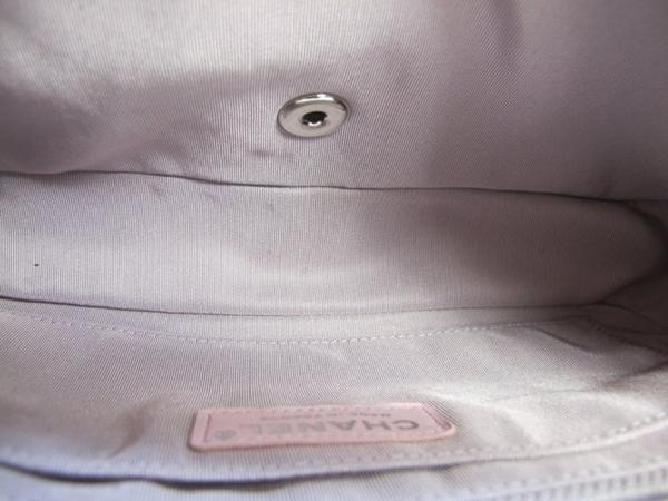 【巴黎站二手名牌專賣店】*全新現貨*CHANEL 香奈兒真品*經典2.55粉紫色毛呢銀鍊轉釦COCO肩背包