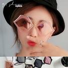 Cicala.性感紅唇派對嘴唇造型反光水銀太陽眼鏡【f7097】*911 SHOP*
