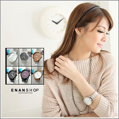 惡南宅急店酷似CK品味男錶女錶可當情侶手錶女錶男錶對錶‧單支價【0053F】