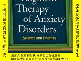 二手書博民逛書店Cognitive罕見Therapy Of Anxiety DisordersY364682 David A.