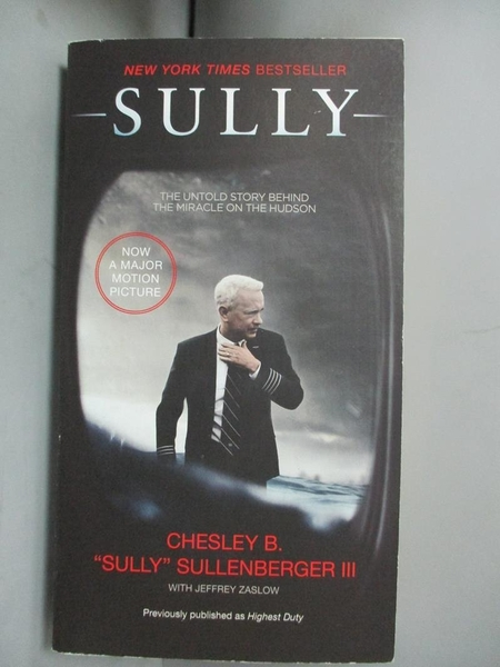 【書寶二手書T1/原文小說_HLK】Sully: My Search for What Really Matters_Chesley