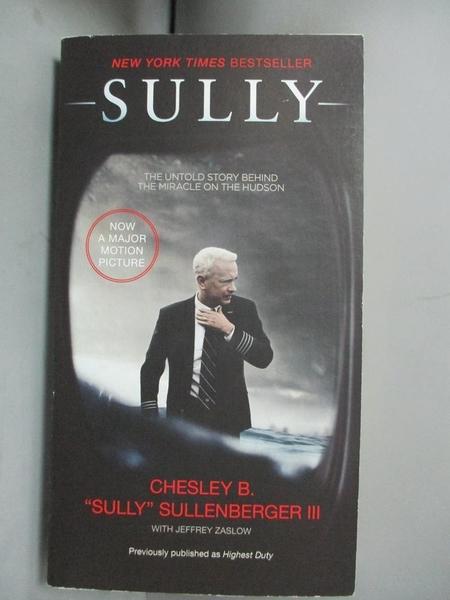 【書寶二手書T3/原文小說_HLK】Sully: My Search for What Really Matters_Chesley