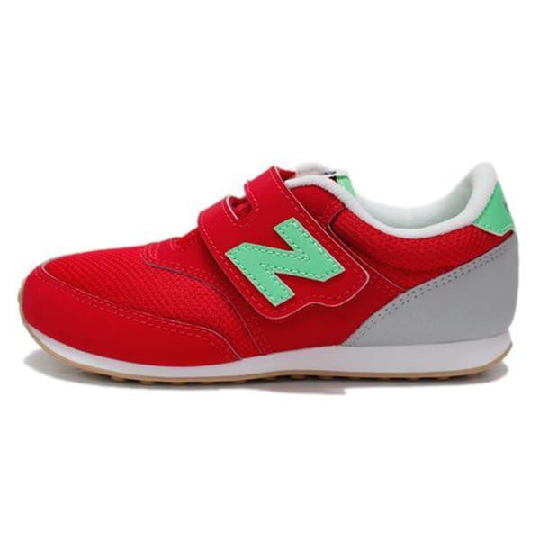 New Balance 中童鞋 紅 男女童鞋 兒童復古跑鞋 寬楦 慢跑鞋 NB 620 K620REP