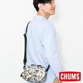 CHUMS 日本 Eco Pouch 肩背包 腳掌迷彩 CH600846Z086