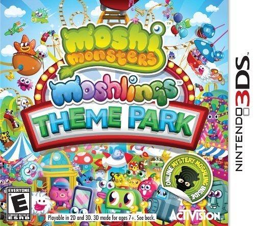 3DS Moshi Monsters Moshlings Theme Park 莫希怪獸主題公園(美版代購)