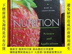 二手書博民逛書店NUTRITION罕見Science..and Applicat