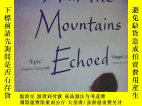 二手書博民逛書店and罕見the mountains echoed 英文原版 大32開Y85718 KHALED HOSSEI