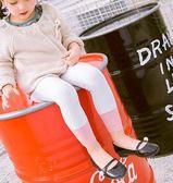女寶寶打底褲薄款純棉公主小兒童連褲襪嬰兒襪子1-3-5歲 K-shoes