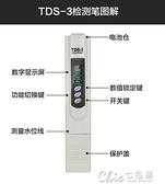 水質檢測筆tds水質測試筆家用直飲水質檢測筆純凈水機礦物質檢測 【全館免運】