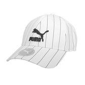 Puma 白色 帽子 運動帽 老帽 遮陽帽 六分割帽 經典棒球帽 運動帽 02255410