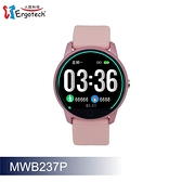 【Ergotech 人因科技】人因 ERGOLINK MWB237 全圓心率智慧監測運動手錶 粉色