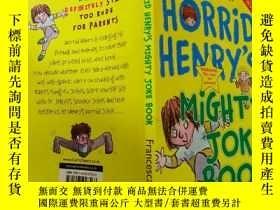 二手書博民逛書店HORRID罕見HENRY S MIGHTY JOKE BOOK:可怕的亨利的大笑話書Y200392