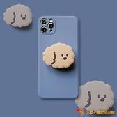 買1送1棕色狗狗蘋果11手機殼iPpromax8plusXS/XR全包防摔7p支架【小獅子】