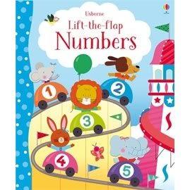 【麥克書店】USBORNE: LIFT-THE-FLAP NUMBERS BOOK /翻翻數數書