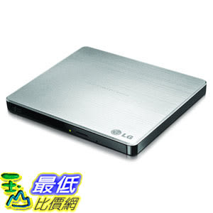 LG Electronics 8X USB 2.0 Super Multi Ultra Slim Portable DVD Rewriter External Drive GP60NS50