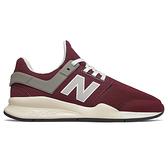 【現貨】New Balance 247 女鞋 慢跑 休閒 輕量 透氣 網布 紅【運動世界】MS247MG